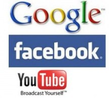 Google, FB, YouTube i dalje najpopularniji